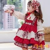 洛麗塔兒童連身裙lolita女孩女童寶寶洋裝【淘嘟嘟】