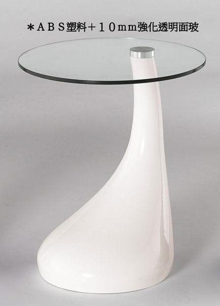 【南洋風傢俱】茶几系列-鬱金香桌 洽談桌 邊几  梵妮玻璃小圓几 (JH758-2+3+4)