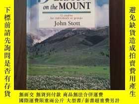 二手書博民逛書店SERMON罕見ON THE MOUNT 12 STUDIES FOR INDIVIDUALS OR GROUS奇