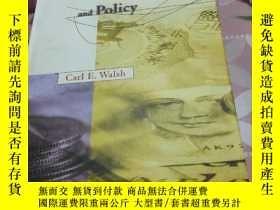 二手書博民逛書店Monetary罕見Theory amd PoIicy (貨幣理論和政策)Y309292 見英文版本頁 見英文