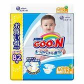(全)【GOO.N】日本境內大王增量特規版尿布/紙尿褲(黏貼型)M82片x3包/箱[衛立兒生活館]