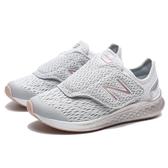 NEW BALANCE 灰銀 玫瑰金 飛機鞋黏帶 慢跑 運動鞋 中童(布魯克林) PTFSTMG