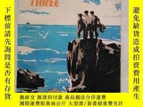 二手書博民逛書店THEY罕見WERE THREE 三個小夥伴(英文版)插圖本Y4
