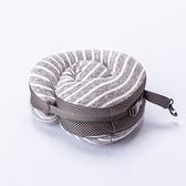 【週年慶倒數全館8折起】收合式舒壓頸枕-簡約灰-生活工場
