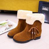 雪靴 2019冬季新款韓版雪地靴女加絨保暖女棉鞋