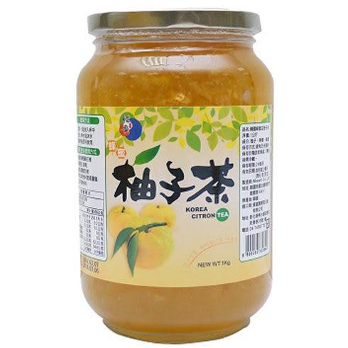 限宅配+韓國進口 黃金蜂蜜柚子茶 1kg