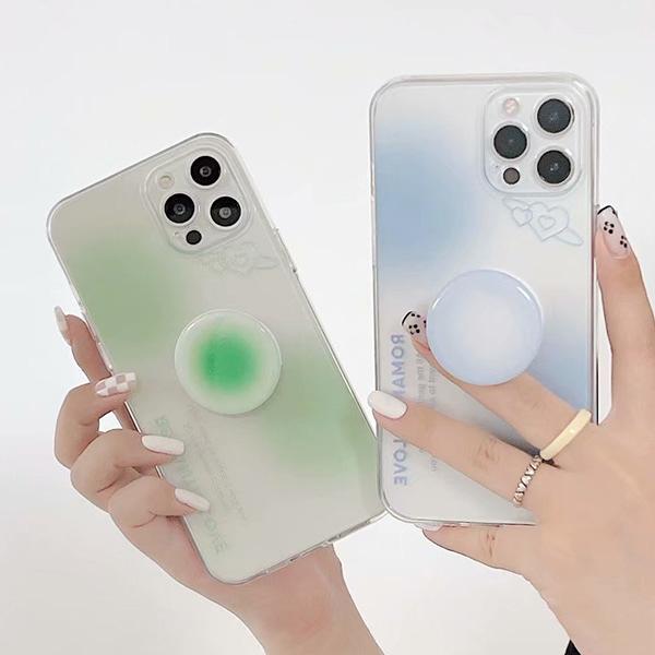 蘋果 iPhone12 Pro Max iPhone11 XR XS Max SE iPhone8 iPhone7 手機殼 粉藍粉綠 蘋果手機殼 保護殼