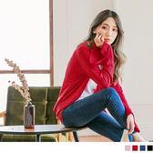 《EA2379》純色超長寬袖開襟罩衫/外套 OrangeBear