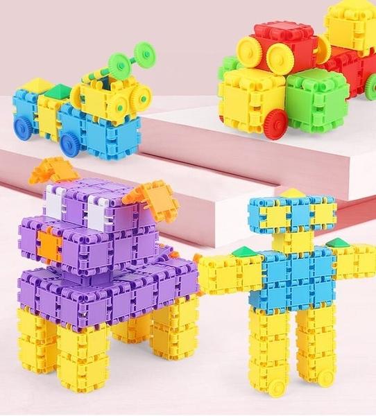 積木塑料拼裝益智智力大顆粒大號兒童玩具