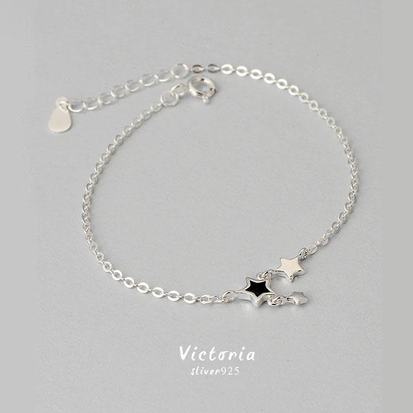 S925純銀 甜美魅力、迷人風采動人手鍊 -維多利亞160924