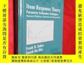 二手書博民逛書店Item罕見Response Theory: Parameter