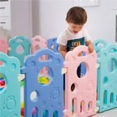 泡泡虎寶寶游戲圍欄兒童安全柵欄家用學步嬰兒圍擋室內玩具防護欄 東京衣櫃