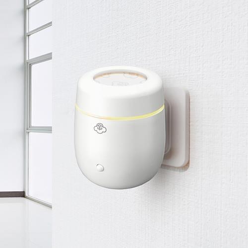 Serene House 巢 壁插式香氛膠囊機小夜燈 + 30g仲夏檸檬草膠囊4入