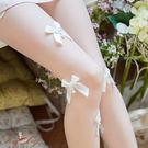 絲襪 立體珍珠蝴蝶結透膚絲襪-Ruby ...