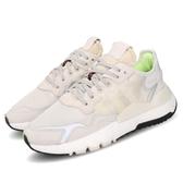 adidas 休閒鞋 Nite Jogger W 灰 米白 女鞋 Boost 中底 運動鞋 3M反光 【PUMP306】 EE5917