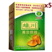 綠川 黃金蜆精錠(100錠/盒)5盒禮盒組 -波比元氣