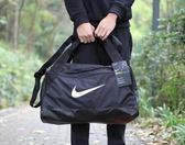 NIKE 運動手提包 訓練袋 健身裝備袋 旅行袋 BA5335-010 黑色
