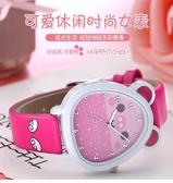 公主粉小巧迷你簡約清新兒童手錶可愛女孩防水學生休閒百搭電子錶