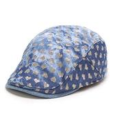 貝雷帽-可愛愛心點點戶外休閒女鴨舌帽2色71k122[巴黎精品]