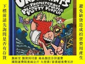 二手書博民逛書店Captain罕見Underpants and the Preposterous Plight of the Pu