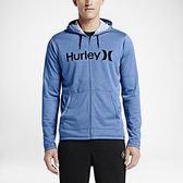 Hurley X NIKE DRI-FIT科技 - LAKE STREET KNIT 連帽外套 -男(藍)