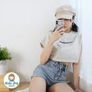 【正韓直送】短版muahmuah短袖上衣 4色 短版上衣 韓國品牌 短袖T恤 短T 哈囉喬伊 G134