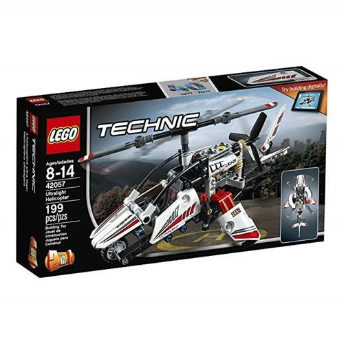 LEGO 樂高 Technic Ultralight Helicopter 42057 Advance Building Set