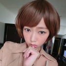 韓劇女生超夯時尚短髮-高仿真超自然整頂假髮【MB052】☆雙兒網☆