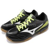 Mizuno 羽球鞋 Gate Sky 黑 白 綠 膠底 基本款 男鞋 女鞋 運動鞋【PUMP306】 71GA1740-05