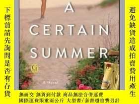二手書博民逛書店A罕見Certain Summer-某個夏天Y465786 Patricia Beard Gallery Bo
