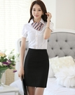 4XL短裙~*艾美天后*~時尚職業女裝商務面試裝正裝工作服