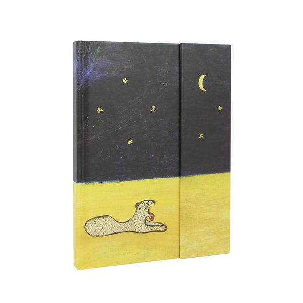 【史博文創】筆記本-常玉 豹-加贈展覽限定L夾(2款)+造型磁鐵