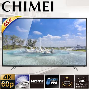 【CHIMEI奇美】65吋4KUHD連網液晶顯示器(TL-65M100)
