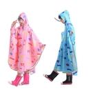 斗篷雨披學生兒童雨衣女大童小型電動電瓶車雨衣女自行車雨披單人 小山好物