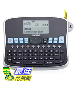 [美國直購] DYMO 1754488 標籤機 LabelManager 360D Rechargeable Desktop Label Maker