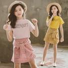 *╮小衣衫S13╭*中大童夏季皇后短版T...