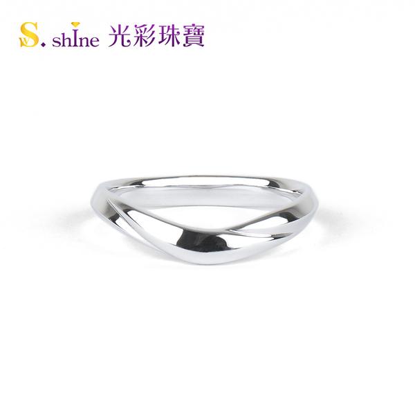 【光彩珠寶】婚戒 日本鉑金結婚戒指 男戒 風之戀