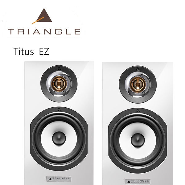 【竹北勝豐群音響】Triangle Esprit Titus  EZ 書架型喇叭 白色 (Paradigm/Integra/Marantz)