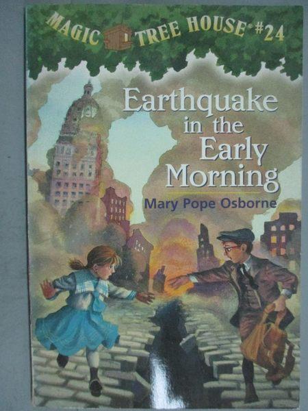 【書寶二手書T6/原文小說_GJG】Earthquake in the Early Morning_精平裝: 平裝本