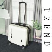 潮小型迷你行李箱女18寸登機20寸卡通輕便拉桿箱旅行密碼箱萬向輪 浪漫西街