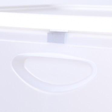 日本 IRIS 磁吸式整理箱 FLP-M 白色款 20L