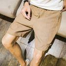 短褲 短褲韓版潮流休閒男褲子亞麻青年潮大褲衩寬鬆夏季棉麻五分褲 瑪麗蘇精品鞋包