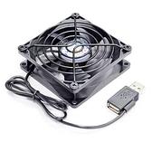JETART 12CM USB 雙向接頭靜音風扇DF12025UB