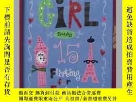 二手書博民逛書店英文原版罕見Girl, Barely 15: Flirting