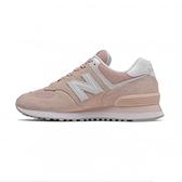 New Balance 女款粉色經典復刻鞋-NO.WL574OAB