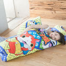 睡袋 / 兒童鋪棉睡袋【妖怪手錶-武士慶典】可愛卡通睡袋,安親班必備,戀家小舖台灣製ABE188