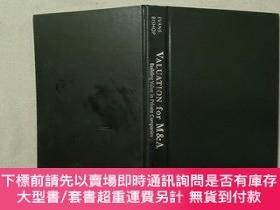 二手書博民逛書店VALUATION罕見for M&AY332659 Frank C. Evans Wiley 出版2001