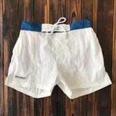 沙灘褲男 寬鬆 海邊度假速干三分短褲帶內襯 沖浪短褲海灘游泳褲