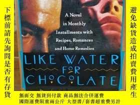 二手書博民逛書店巧克力情人罕見Like Water for Chocolate