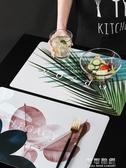 餐桌墊北歐創意餐桌墊家用防燙西餐墊防水防油隔熱墊碗墊盤子鍋墊子 交換禮物